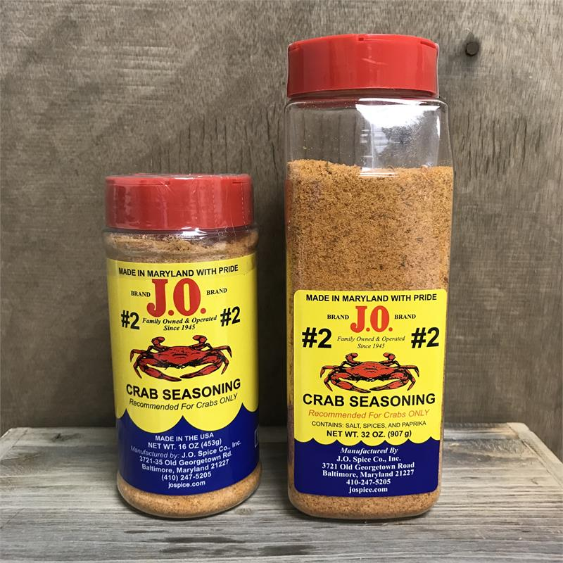 JO Spice #2 Brand Crab Seasoning